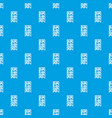 bookcase pattern seamless blue vector image vector image
