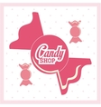 Candy design sweet icon dessert concept vector image vector image