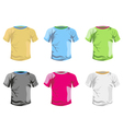 Color T-shirt template