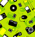 Electronic Gadgets Seamless Pattern vector image vector image