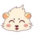 funny cavy smiling - emoticons icon smile laugh vector image vector image