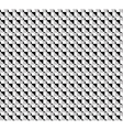 monochrome geometric pattern vector image vector image