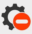 remove settings gear icon