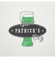 Saint Patricks Day Luck of the Irish Detailed vector image