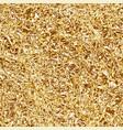seamless golden foil pattern vector image