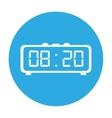 alarm clock icon image vector image vector image