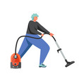 cleaning company service flat isolated vector image vector image