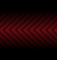 dark red arrow pattern direction vector image vector image