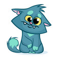 fat cat cartoon vector image vector image