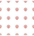 ferris wheel icon pattern seamless white vector image vector image