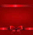 Retro Red Christmas Wallpaper vector image vector image
