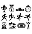 running sport outdoor jogging people marathon vector image vector image