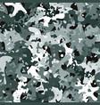seamless digital tundra spot camo texture vector image vector image