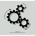 mechanism black white vector image