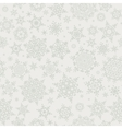 Christmas snowflakes seamless background EPS 10 vector image vector image