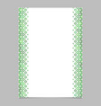 diagonal square pattern page template - graphic vector image vector image