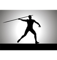Javelin Thrower vector image