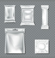 set flow pack on transparent background vector image