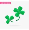 Trefoil and quatrefoil clover leaf vector image vector image