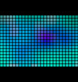 turquoise blue purple abstract rounded mosaic