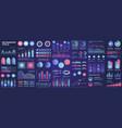 bundle infographic ui ux kit elements vector image
