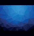 dark blue ocean geometric wallpaper background vector image vector image