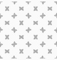 deoxyribonucleic acid seamless pattern vector image vector image