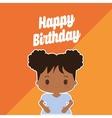 Happy birthday kid cartoon vector image