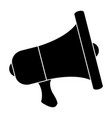 megaphone sound isolated icon vector image vector image