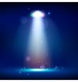 scene illumination show bright lighting with vector image