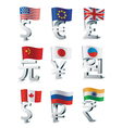 signs of main world currencies vector image