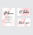 abstract wedding card grunge pattina effect vector image vector image