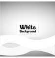 abstract white wavy gray background image vector image vector image