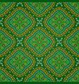 bright seamless indian pattern paisley mandala on vector image