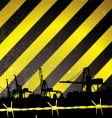 crane stripe vector image vector image