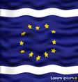 EU flag vector image