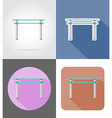 furniture flat icons 33 vector image