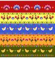 Pattern Folk vector image vector image