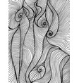 waves curly abstract psychedelic coloring page