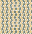 geometry pattern triangle seamless ornament vector image
