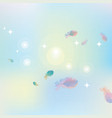 abstract pink blue background vector image