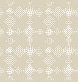 geometric lines seamless pattern abstract beige vector image vector image