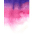 purple and pink color gradient watercolor vector image