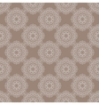 Seamless vintage pattern with floral ornament vector image vector image