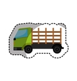 Stakes truck isolated icon vector image
