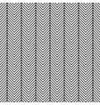 thin herringbone lines seamless pattern vector image vector image