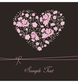 Beautiful floral heart vector | Price: 1 Credit (USD $1)