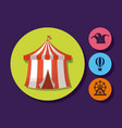 circus carnival design vector image vector image