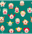clowns entertaining people emotions of man vector image vector image