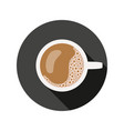 coffee cup symbol vector image